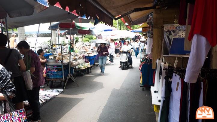 台湾の市場、朝市